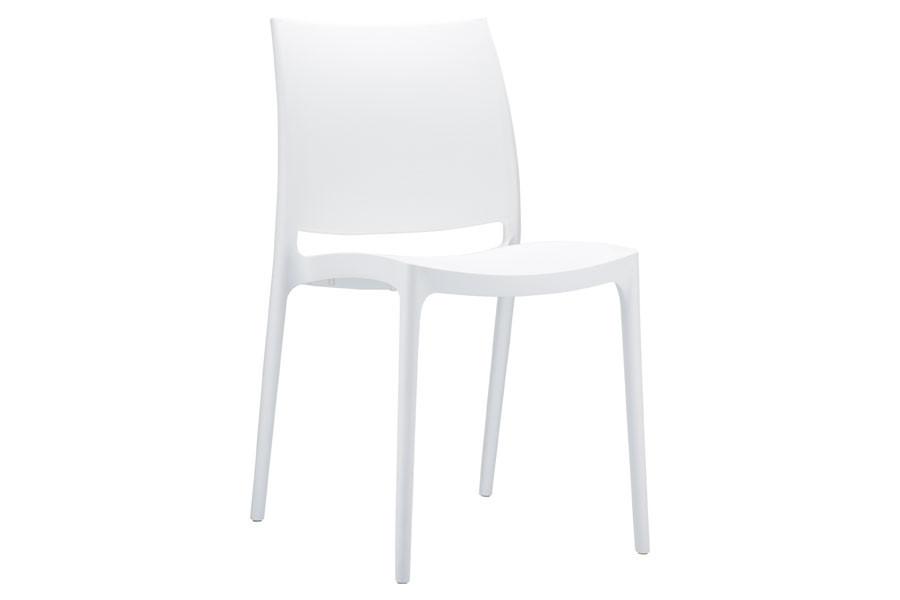 Stapelbare stoel Yami wit