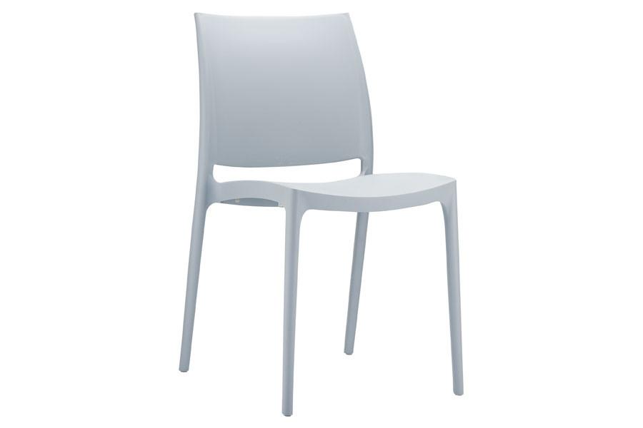 Stapelbare stoel Yami grijs
