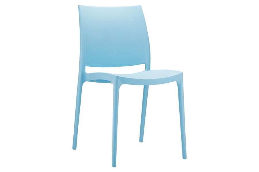 Stapelbare stoel Yami blauw