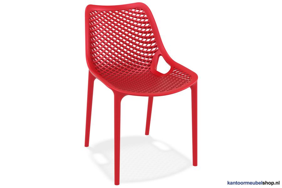 Stapelbare stoel Air Rood