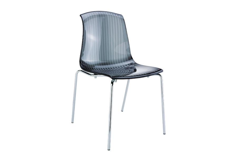 stapelbare stoel alegria zwart