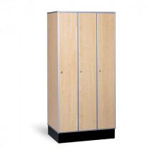 Garderobekast hout