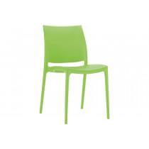 Stapelbare stoel Yami groen