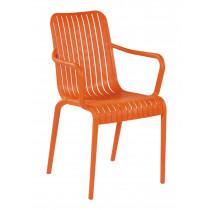 stapelbare stoel one oranje