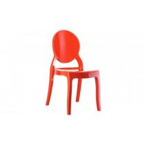 Stapelbare stoel Eli rood