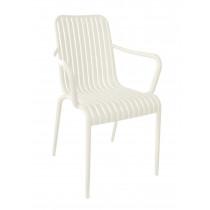 stapelbare stoel one beige