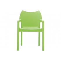 Stapelbare stoel Vida groen 3