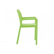 Stapelbare stoel Vida groen 4