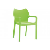 Stapelbare stoel Vida groen