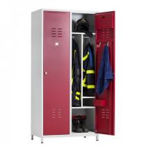 garderobekast brandweer