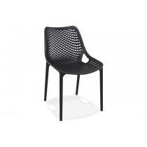 Stapelbare stoel Air Zwart