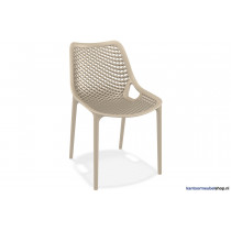 stapelbarestoel air Beige | kantoormeubelen