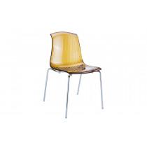 Stapelbare stoel Alegria amber