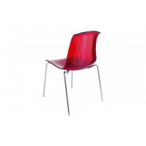 stapelbare stoel alegria rood