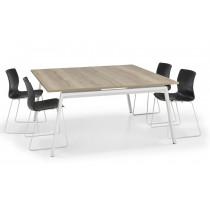 vierkante vergadertafel 160 cm