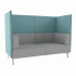 Tryst Sofa 2-zits high back